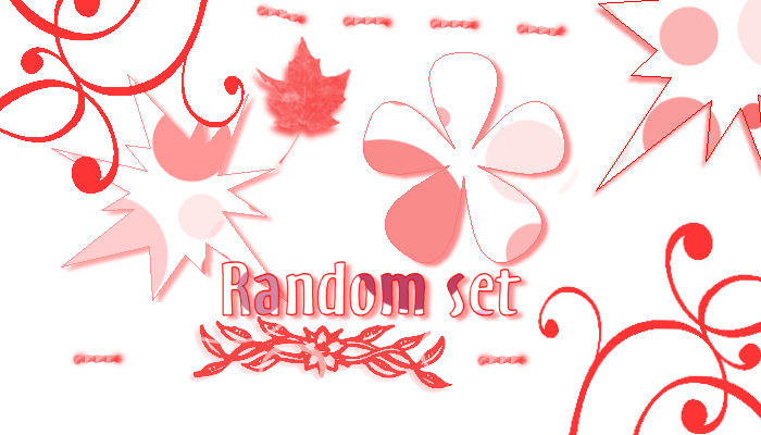 Random Set by marionettechild