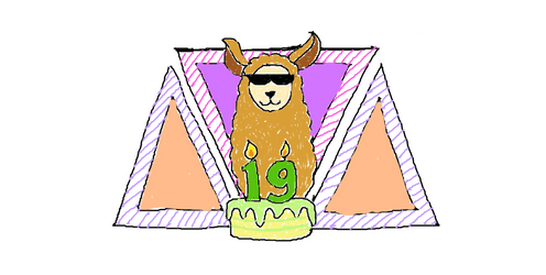 DA Birthday Llama Hunt 2019 - B'day Llama