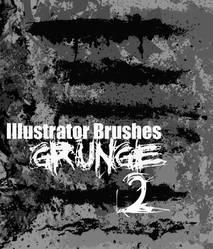 Illustrator Grunge Brushes 2 by themeatgrinder