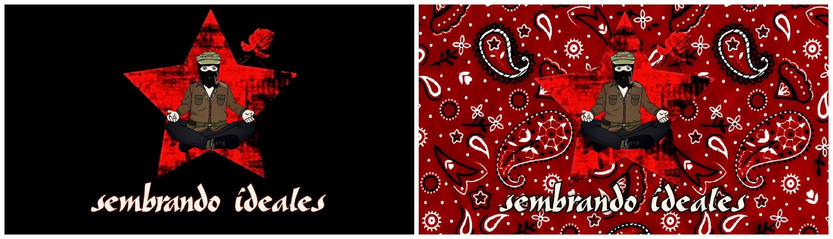 Marcos Red and Black - Wallpaper Pack by Quadraro