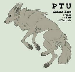 -PTU- Canine Lineart