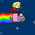 Thor Nyan Cat