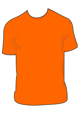 T-Shirt Template by bitstarr