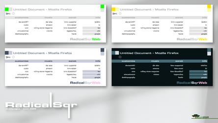 RadicalSqr:Startpage by Leuchtstoff