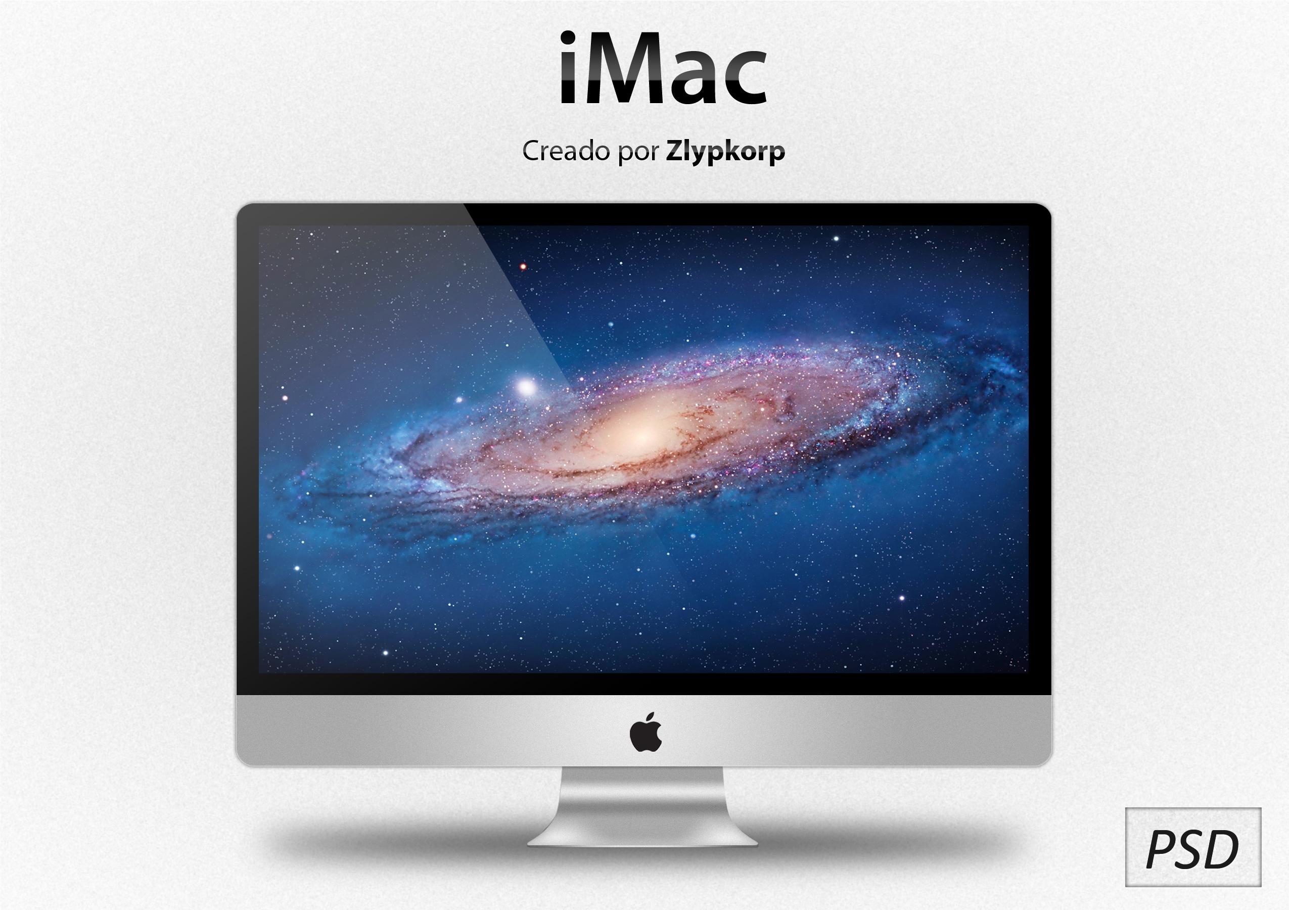 Apple iMac PSD