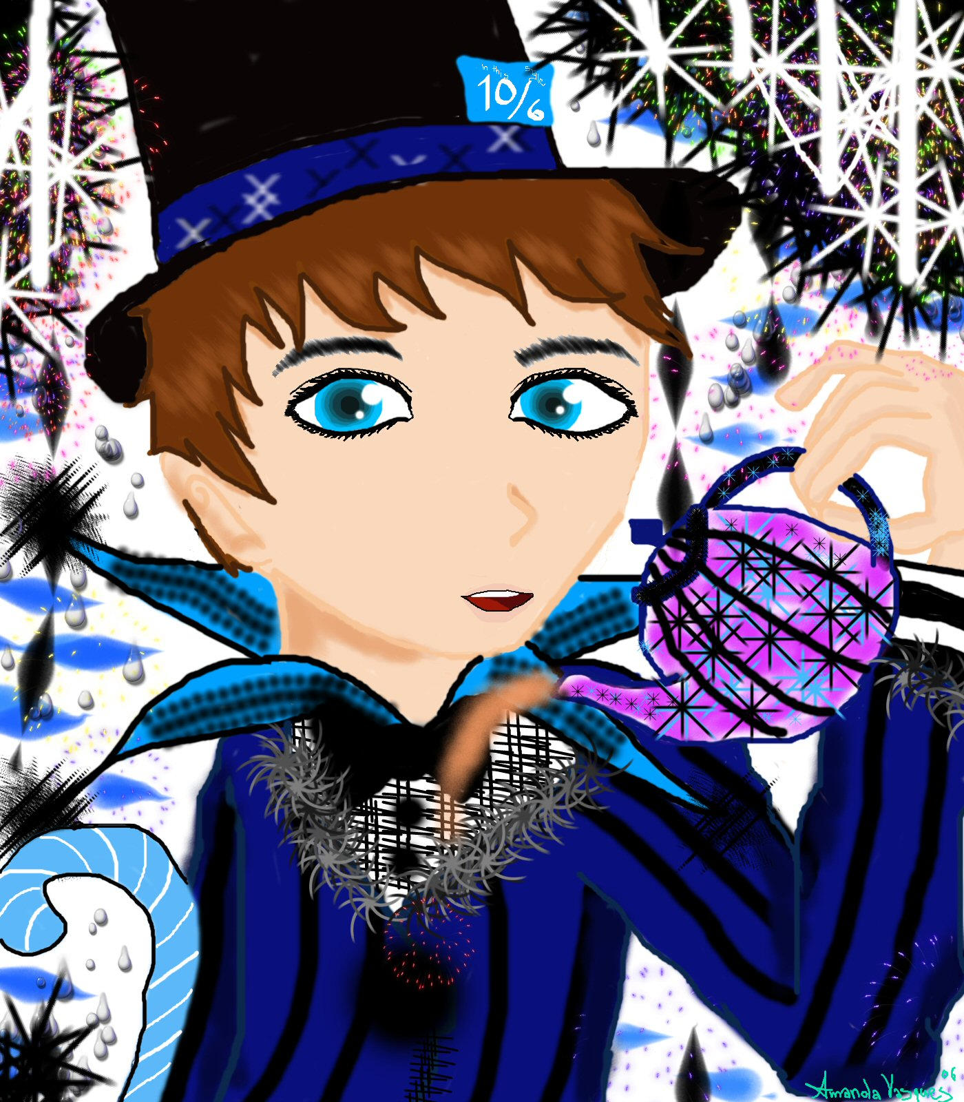 A Merry Birthday by Darkstarcat612