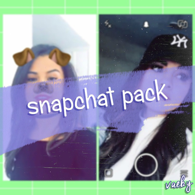Pack PNG | Snapchat filtros / Snapchat filters by Vaeby on