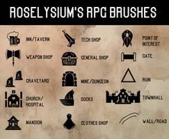Roselyisum's City Map RPG Brushes
