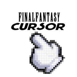Final Fantasy hand cursor
