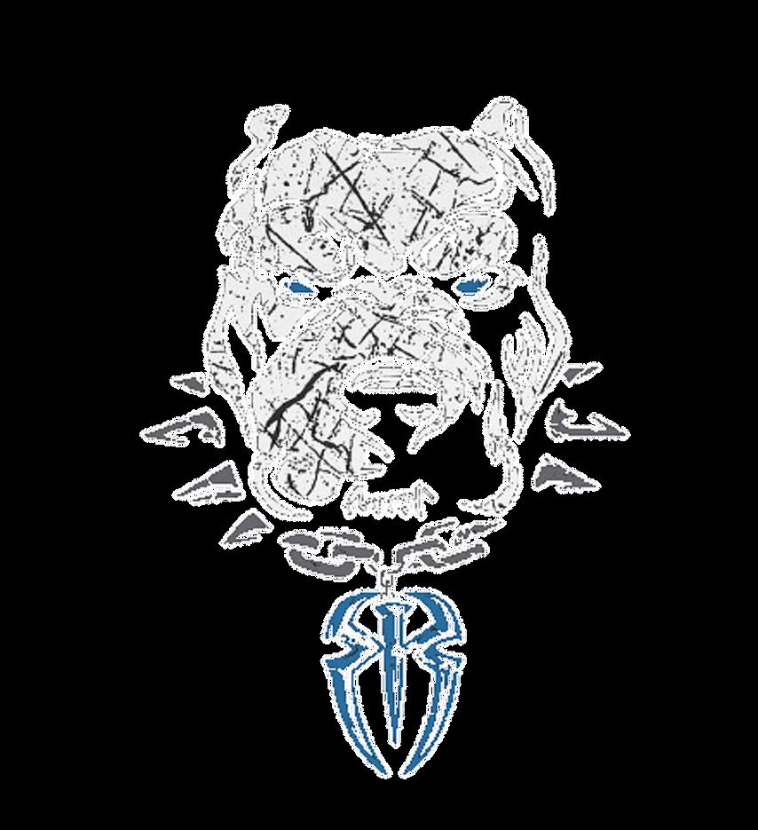 Roman Reigns Unleash The Big Dog Logo Png By Thebigdog1996 On