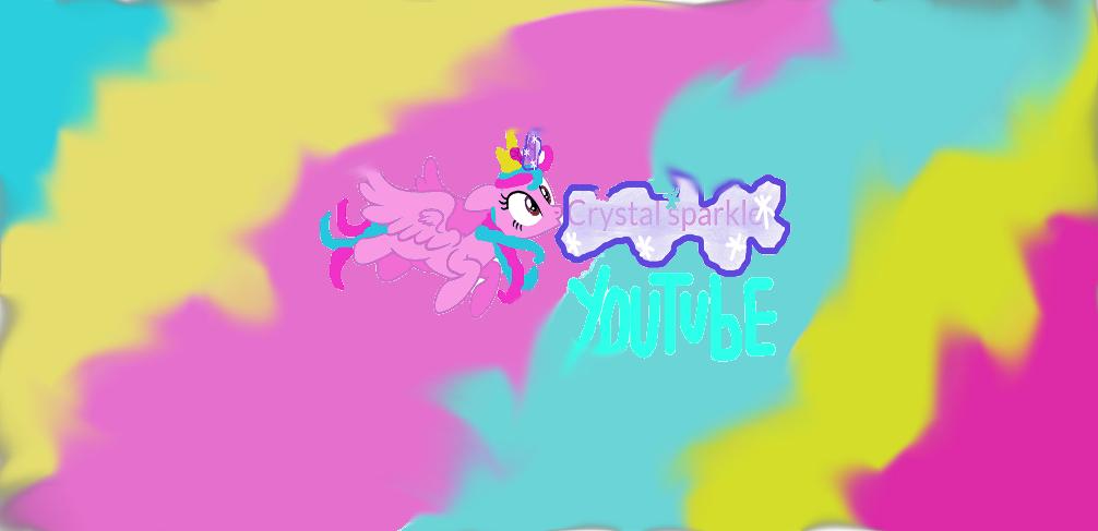 Channel Art Youtube By Crystalsparkle-pony On DeviantArt