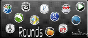 'Rounds' Mobile App Icons
