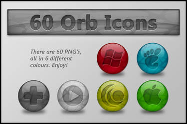 Colourful Orb Icons