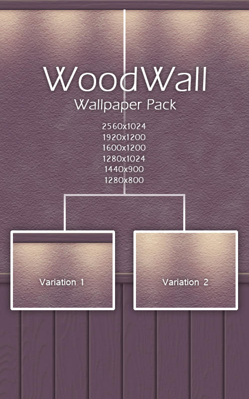 WoodWall Pack by KorToIk