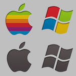 rEFIt Boot Icons (Mac and Windows logos)