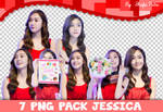 7 PNG Pack Jessica ( SNSD )