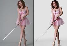 Retouch 66: Ballerina
