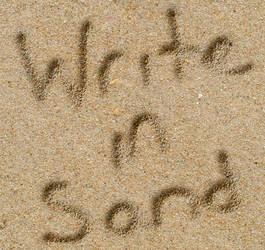 Write in Sand PSCS6 style by Autumns-Muse