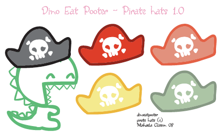 DDU - Pirate Hats 1.0 by DinoEatPooter