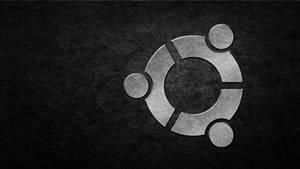 ubuntu black silver grunge by HaniSantosa