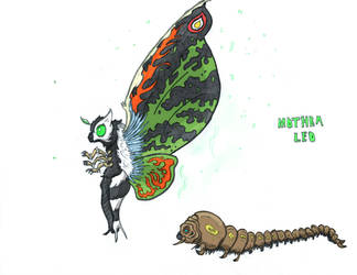 Mothra Leo by Kaijudude
