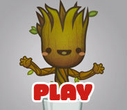 Kawaii Dancing Baby Groot by SquidPig