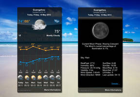 Omega Weather Glass for xwidget by Jimking