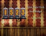 Nixie Tube Clock HD for xwidget