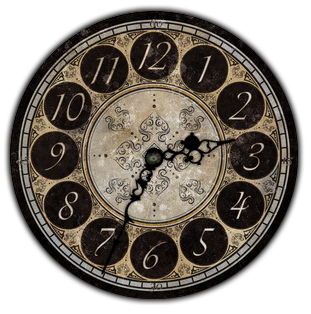 Vintage Analog Clock 2 For Xwidget By Jimking