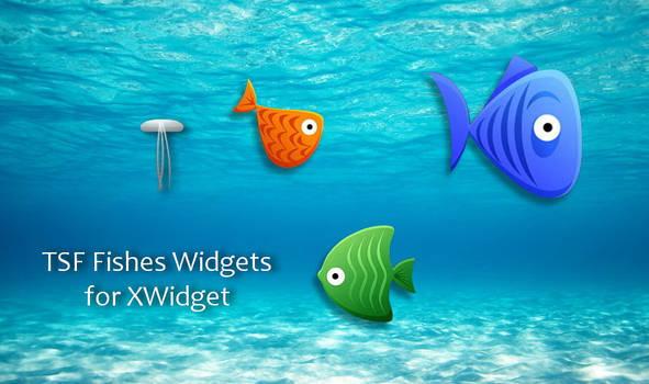 TSF Fishes Widgets for xwidget