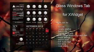 Glass Windows Tab for xwidget