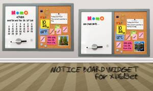 Notice Board Widget for xwidget (fixed)