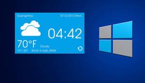Windows 8 Widget for xwidget