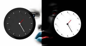 Long Shadows Clock for xwidget