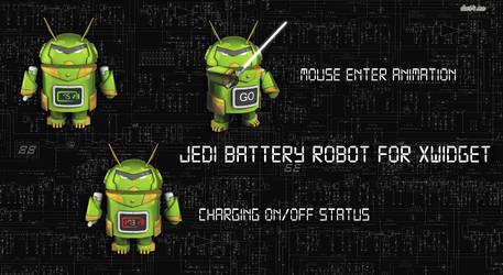 Jedi Battery Robot for xwidget by Jimking