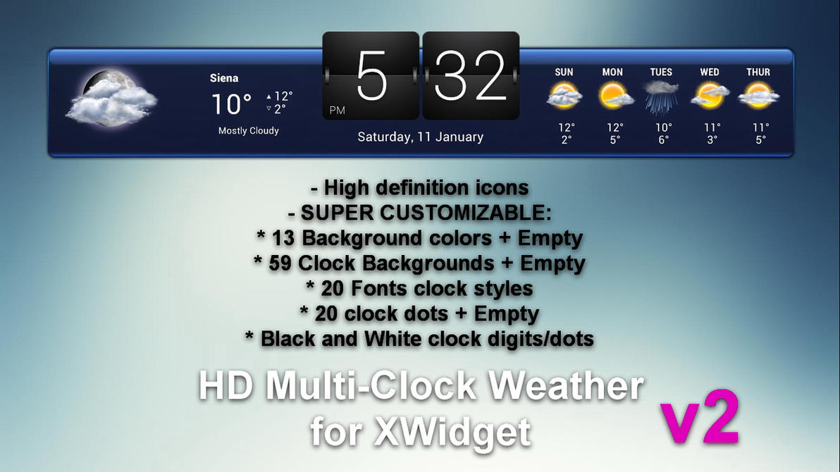 Hd multi clock weather v2 for xwidget hot by jimking on deviantart hd multi clock weather v2 for xwidget hot by jimking thecheapjerseys Images