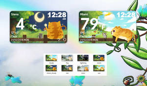 Fatcat Style Weather for xwidget