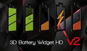 3D Battery HD for xwidget