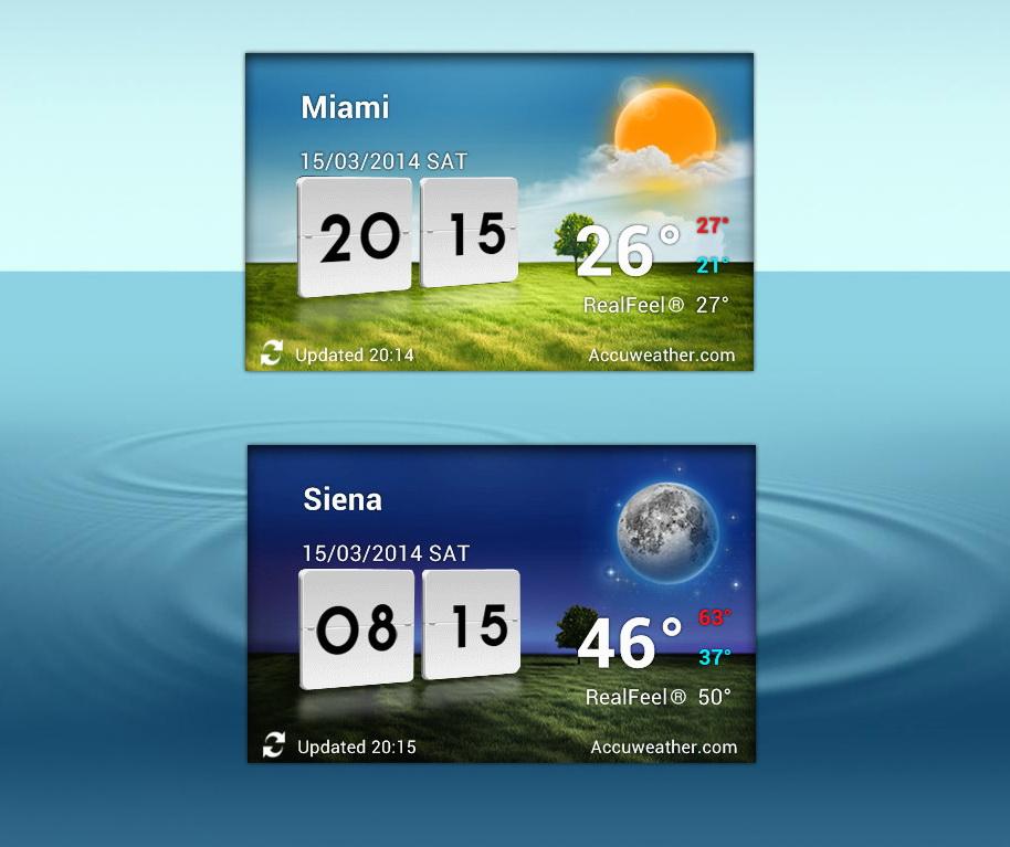 Виджеты Погоды Андроид 4.1От Lg