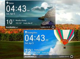LG Optimus G Weather HD for xwidget by Jimking