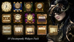 SP (steampunk) Widgets Pack for xwidget (FIXED)