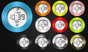 Ciclo Clock HD for xwidget