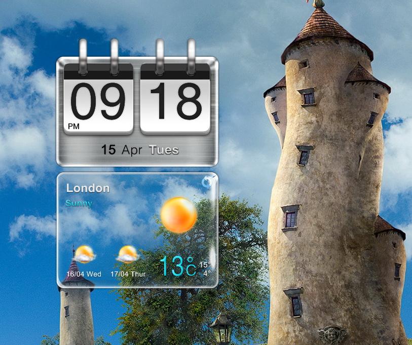 HTC Style Widget for xwidget by Jimking on DeviantArt