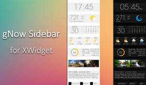 gNow Sidebar for xwidget