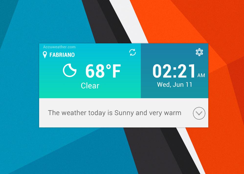 LG G3 Widget for xwidget by Jimking