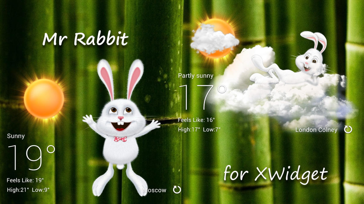 Mr Rabbit for xwidget by jimking
