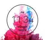 Verizon LG G3 Clock for xwidget (fixed)
