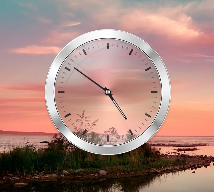 Oppo clock widget
