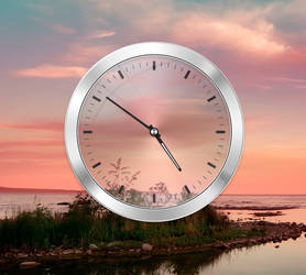 Oppo Find 5 Analog Clock Widget for xwidget by Jimking