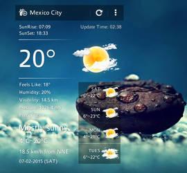 U Weather 2 for xwidget by Jimking